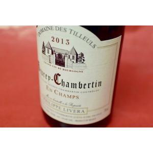 赤ワイン ドメーヌ・デ・ティユル / ジュヴレ・シャンベルタン・アン・シャン [2013]|wineholic
