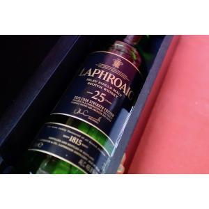 モルトウイスキー ラフロイグ / 25年 43% 2015 ボトリング wineholic