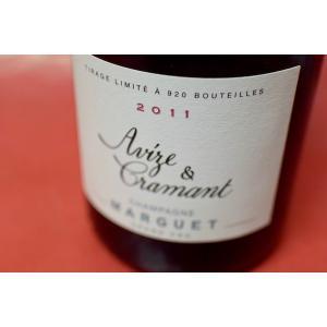 シャンパン スパークリングワイン マルゲ・ペール・エ・フィス / ブリュット・ナチュール アヴィズ・エ・クラマン グラン・クリュ [2011]|wineholic