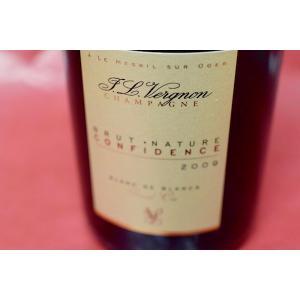 シャンパン スパークリングワイン ジャン・ルイ・ヴェルニョン / ブリュット・ナチュール コンフィデンス グラン・クリュ [2009]|wineholic