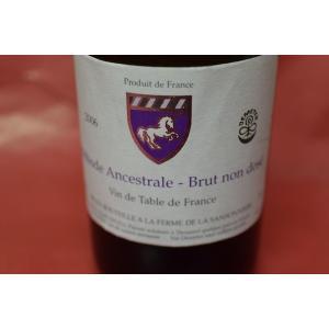 シャンパン スパークリングワイン ラ・フェルム・ド・ラ・サンソニエール(マルク・アンジェリ) / メトッド・アンセストラル ブリュット・ノン・ドゼ [2006] wineholic