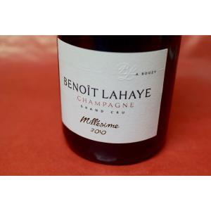 シャンパン スパークリングワイン ブノワ・ライエ / エキストラ・ブリュット・グラン・クリュ・ミレジメ 2010(2016/05入荷分)|wineholic