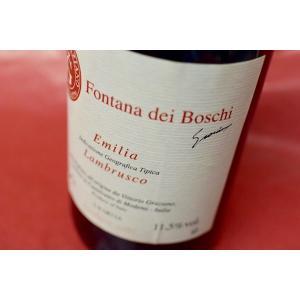 シャンパン スパークリングワイン ヴィットーリオ・グラツィアーノ / ランブルスコ・フォンタナ・デイ・ボスキ [2013]|wineholic