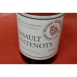 白ワイン ドメーヌ・マルキ・ダンジェルヴィーユ / ムルソー・サントノ [2014]|wineholic