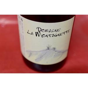 赤ワイン ドメーヌ・ド・ラ・モンタニェット / コート・デュ・ローヌ・ヴィラージュ 2016|wineholic