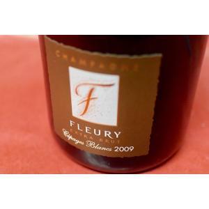 シャンパン(泡物) フルーリー・ペール・エ・フィス / セパージュ・ブラン・ブリュット [2009]|wineholic
