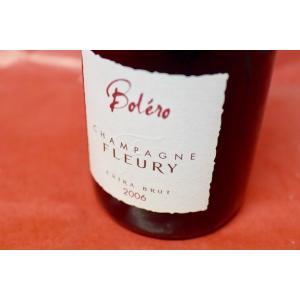 シャンパン(泡物) フルーリー・ペール・エ・フィス / エキストラ・ブリュット・ボレロ・ミレジメ 2006|wineholic