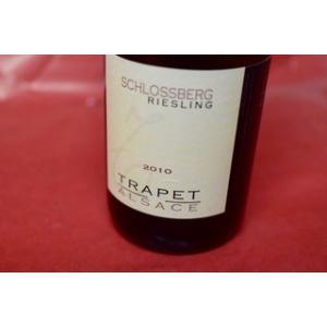 白ワイン ドメーヌ・トラペ / リースリング・シュロスベルグ 2010|wineholic