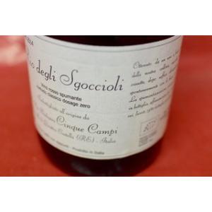 シャンパン(泡物) チンクエ・カンピ / リオ・デリ・ズゴッチョリ [2014]|wineholic