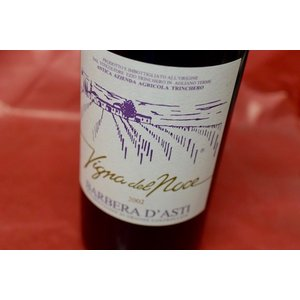 赤ワイン トリンケロ / バルベーラ・ダスティ・ヴィーニャ・デル・ノーチェ 栗樽熟成 [2002] 1500ml|wineholic