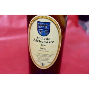白ワイン ドメーヌ・スクラヴォス / ヴァン・ブラン・ド・ターブル・アルシミスト [2016]|wineholic