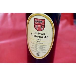 赤ワイン ドメーヌ・スクラヴォス / ヴァン・ルージュ・ド・ターブル・アルシミスト [2016]|wineholic