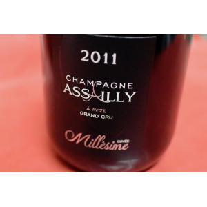 シャンパン(泡物) アサイー・ルクレール・エ・フィス/ シャンパーニュ・キュヴェ・ミレジム [2011]|wineholic