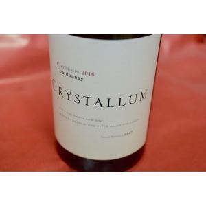 白ワイン クリスタルム / クレイ・シェルス・シャルドネ [2016]|wineholic
