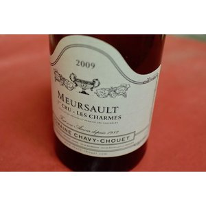 白ワイン ドメーヌ・シャヴィ・シュエ / ムルソー・プルミエ・クリュ・レ・シャルム 2009|wineholic