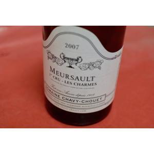 白ワイン ドメーヌ・シャヴィ・シュエ / ムルソー・プルミエ・クリュ・レ・シャルム 2007|wineholic