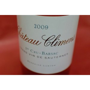 甘口ワイン シャトー・クリマン [2009]|wineholic