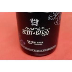 シャンパン(泡物) プチ・エ・バジャン / シャンパーニュ・グラン・クリュ・ブリュット・オブシディエンヌ|wineholic