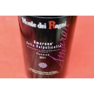 赤ワイン モンテ・デイ・ラーニ / アマローネ・クラッシコ・デッラ・ヴァルポリチェッラ [2011]|wineholic