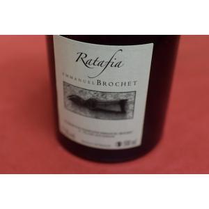 甘口ワイン エマニュエル・ブロシェ / ラタフィア 500ml|wineholic