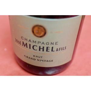シャンパン(泡物) ジョゼ・ミッシェル / ブリュット・グラン・ヴィンテージ [2010]|wineholic
