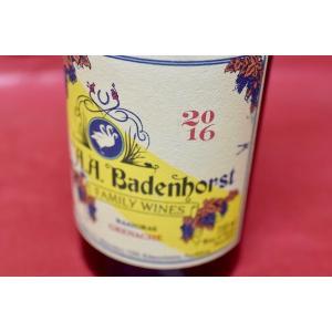 赤ワイン A.A.バーデンホースト / ドライフコップ・グルナッシュ・ノワール [2016]|wineholic