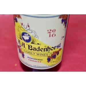 赤ワイン A.A.バーデンホースト / ラムナグラス・サンソー [2016]|wineholic