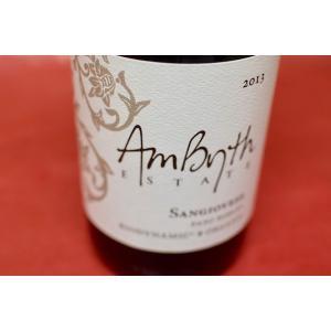 赤ワイン アンビス・エステイト / サンジョヴェーゼ [2013]|wineholic
