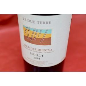 赤ワイン レ・デュエ・テッレ / メルロー [2014]|wineholic