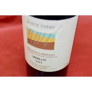 赤ワイン レ・デュエ・テッレ / メルロー [2015]|wineholic