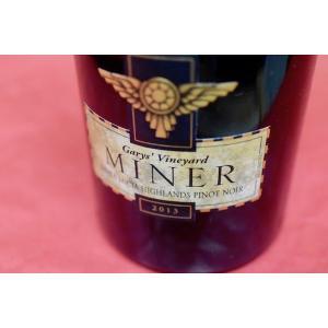 赤ワイン マイナー・ファミリー・ワイナリー / ギャリーズ・ヴィンヤード・サンタ・ルシア・ハイランズ・ピノ・ノワール [20013]|wineholic