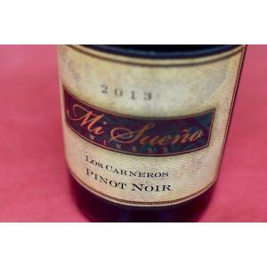 赤ワイン ミ・スエーニョ・ワイナリー / ルシアン・リヴァー・ヴァレー・ピノ・ノワール [2013]|wineholic