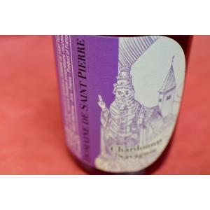 白ワイン ドメーヌ・ド・サン・ピエール / アルボワ・ブラン・シャルドネ・サヴァニャン[2011]|wineholic