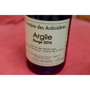 赤ワイン ドメーヌ・デ・ザルドワジエール / キュヴェ・アルジル・ルージュ [2016]|wineholic