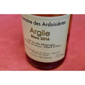 白ワイン ドメーヌ・デ・ザルドワジエール / キュヴェ・アルジル・ブラン [2016]|wineholic