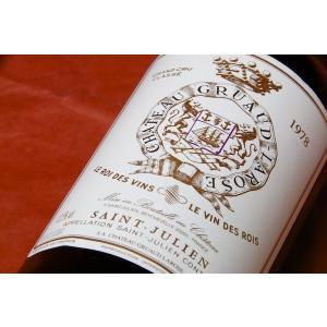 赤ワイン シャトー グリュオ・ラローズ [1978]|wineholic