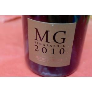 シャンパン(泡物) ミッシェル・ジュネ / ビオ・グラフィ・ブラン・ド・ブラン・グラン・クリュ [2010]|wineholic