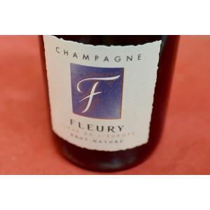 シャンパン(泡物) フルーリー・ペール・エ・フィス / フルー・ド・リョーロップ・ブリュット・ナチュール [NV]|wineholic