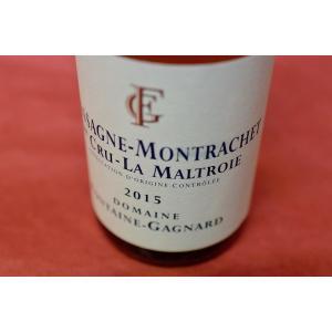 白ワイン ドメーヌ・フォンテーヌ・ガニャール / シャサーニュ・モンラッシェ・プルミエ・クリュ・ラ・マルトロワ [2015] 375ml|wineholic