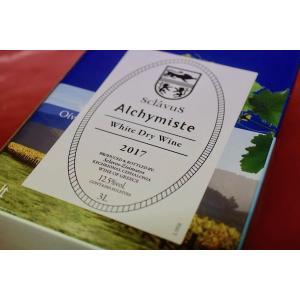 白ワイン ドメーヌ・スクラヴォス / ヴァン・ブラン・ド・ターブル  アリシミスト 3000ml [2017]|wineholic