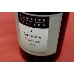 赤ワイン マルセル・リショー / コート・デュ・ローヌ -ヴィラージュ キュヴェ・レブレスカード [2015]|wineholic