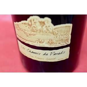 白ワイン ドメーヌ・ガヌヴァ / コート・デュ・ジュラ・シャルドネ・レ・シャモワ・ド・パラディ 2014  1500ml|wineholic