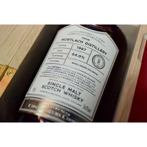 モルト・ウイスキー モートラック・ディスティラリー・コニッサーズ・チョイス  1987y 31y 54% ゴードン&マクファイル|wineholic