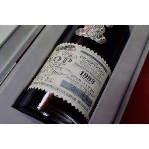 モルト・ウイスキー グレン・ギリー 1993年  58,3% / ダグラスレイン・エクストラ オールド・パティキュラー・プラチナム 70周年記念ボトル|wineholic