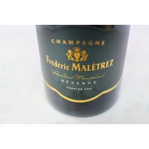 シャンパン(泡物) フレデリック・マルトレ / ブリュット・レゼルヴ・プルミエ・クリュ 375ml|wineholic