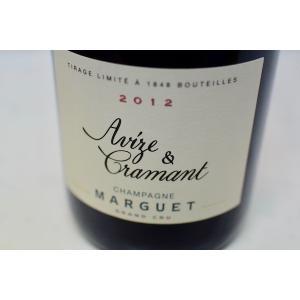 シャンパン(泡物) マルゲ・ペール・エ・フィス / ブリュット・ナチュール アヴィズ・エ・クラマン グラン・クリュ [2012]|wineholic