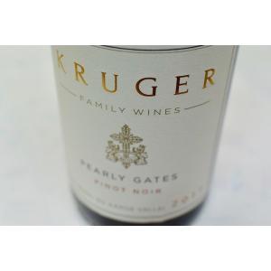 赤ワイン クルーガー・ファミリー・ワインズ / パーリー・ゲーツ・ピノ・ノワール  [2017]|wineholic