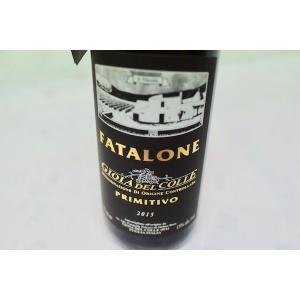 赤ワイン ファタローネ / ジョイア・デル・コッレ [2015]|wineholic