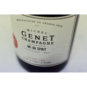 シャンパン(泡物) ミッシェル・ジュネ / ブリュット・ブラン・ド・ブラン・スピリット・グラン・クリュ|wineholic