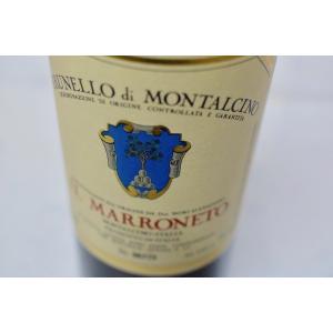 赤ワイン イル・マッロネート / ブルネッロ・ディ・モンタルチーノ イル・マロネート [2013]|wineholic